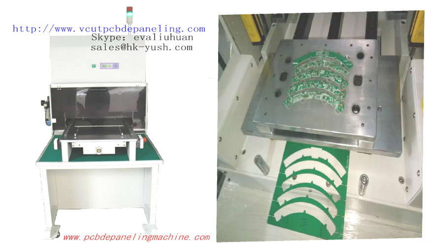 Automatic PCB Depaneling Machine for FR4 board |PCB Punching Machine For Automotive And Mobile Electronics Industry