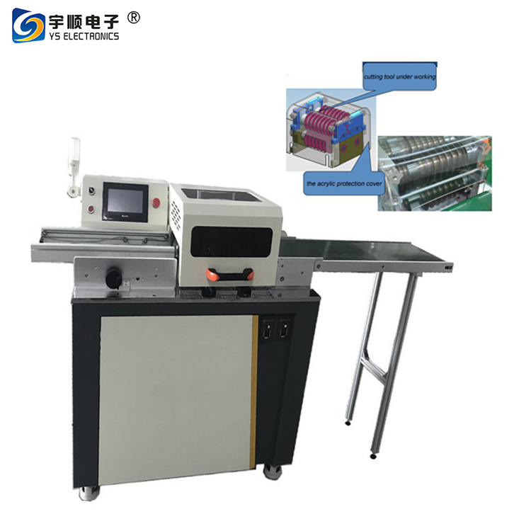 Motorized PCB Depaneler Machine-YSVJ-650