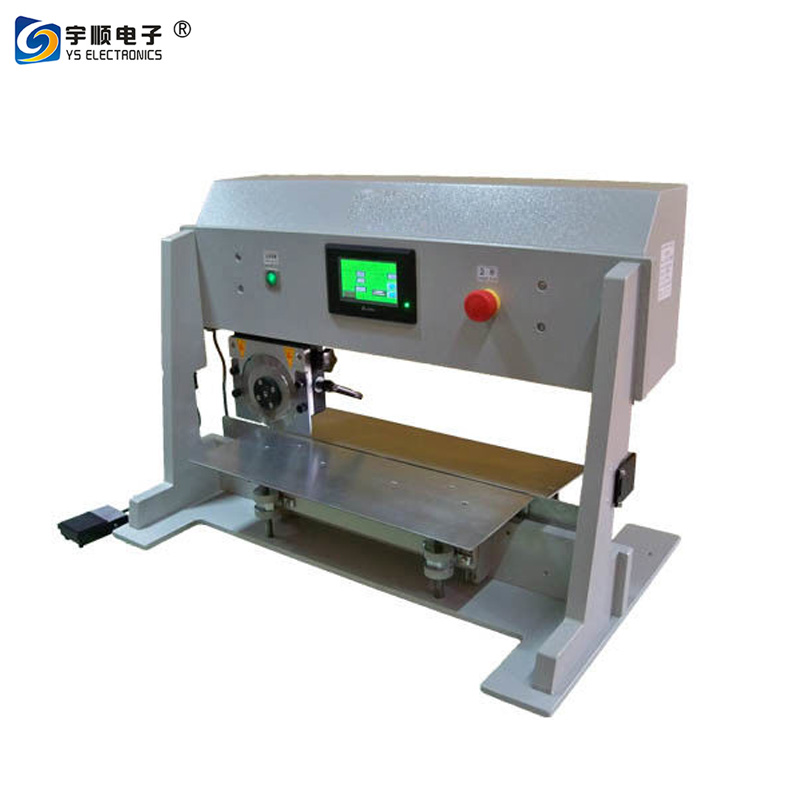 Four Optional Speed PCB Depaneling Machine With Lcd Display And Safe Sensor